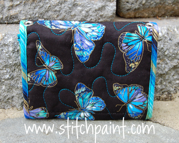 Mini Wallet Back | Stitchpaint | Enchanted Fabric