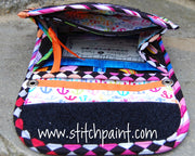 Mini Wallet Inside | Flip Flop Fabric | Stitchpaint