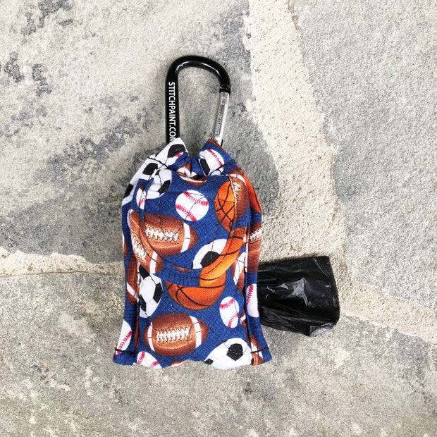 Poo Bag Pouch | Sporty Fabric | Stitchpet