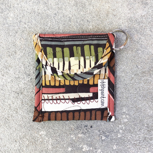 Credit Card Fob | Keychain Card Wallet | Stitchpaint | Spice