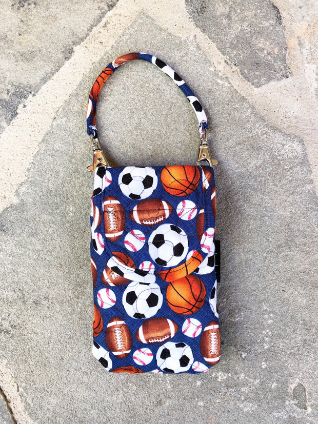 Phone Pouch | Cell Phone Case with Strap | Stitchpaint | Sporty