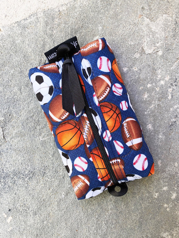 Zip Tissue Case | Case for Pocket Tissues | Stitchpaint | Sporty