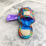 Poo Bag Pouch Inside | Swirls Fabric | Stitchpet