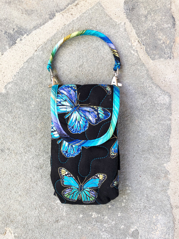Phone Pouch | Cell Phone Case with Strap | Stitchpaint | Enchanted