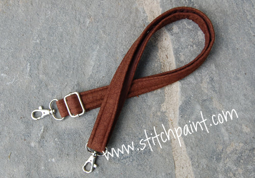 Waist Strap | Brown Crackle | Stitchpaint