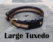 Large Boutique Dog Collars | Tuxedo