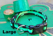 Large Lucky Dog Collar | Stitchpet