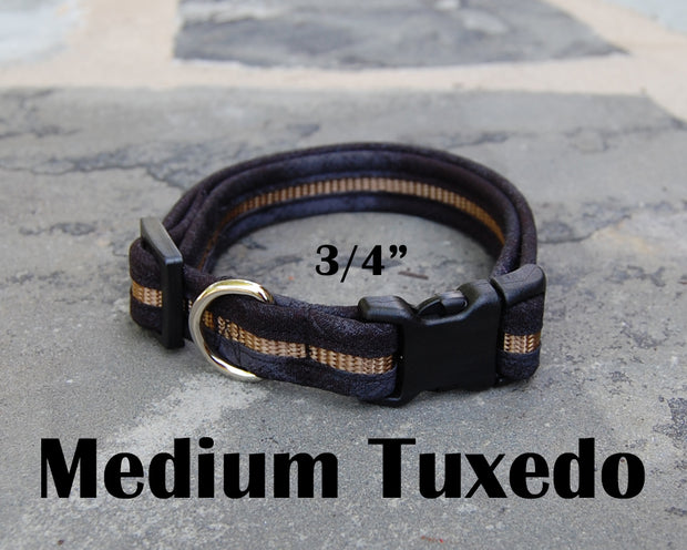 Medium Boutique Dog Collars | Tuxedo