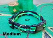Medium Lucky Dog Collar | Stitchpet