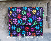 Mini Wallet | Paws Fabric | Stitchpaint