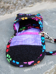 Phone Pouch Inside | Paws Fabric | Stitchpaint