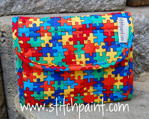 Mini Wallet | Puzzling Fabric | Stitchpaint