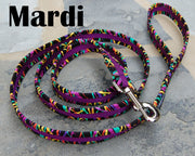 Mardi Ribbons Dog Leash | Stitchpet