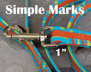 Simple Marks Dog Leash 1"