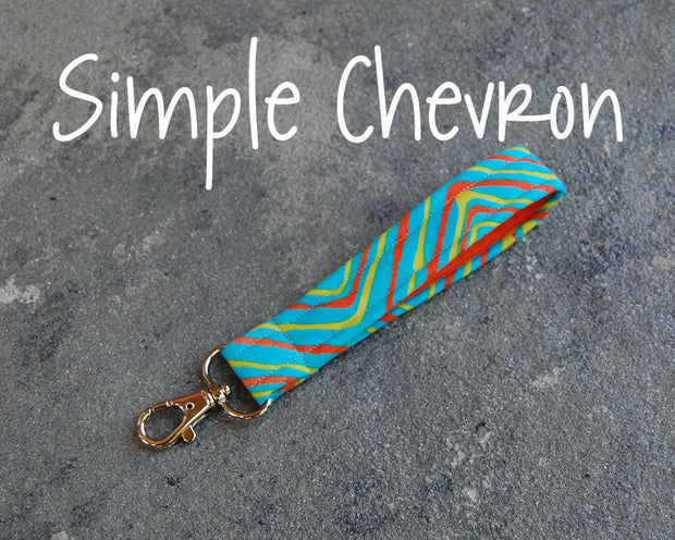 Wrist Strap | Simple Chevron