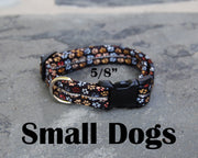 Small Boutique Dog Collars | Dogs Paw Print