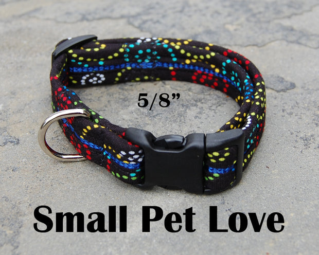 Small Dog Love Dog Collar | Stitchpet