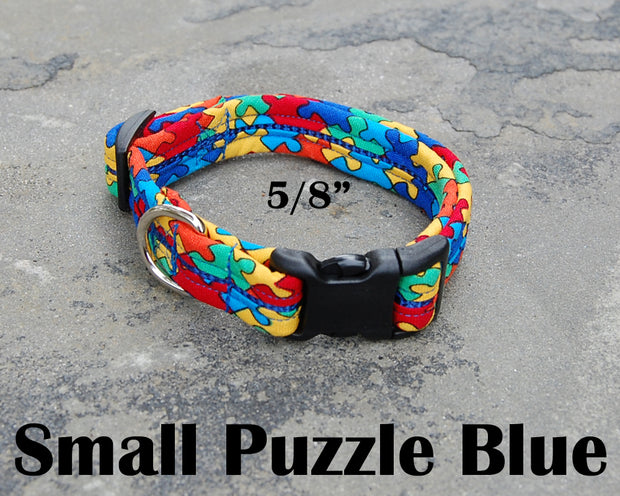 Small Boutique Dog Collar | Puzzling | Stitchpet
