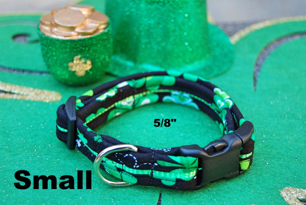 Small Lucky Dog Collar | Stitchpet