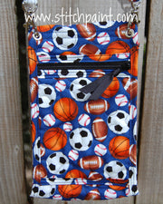Mini Crossbody Phone Bag Back | Sporty | Stitchpaint
