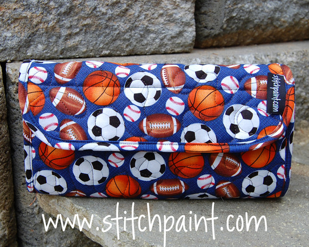 Clutch Wallet | Sporty Fabric | Stitchpaint