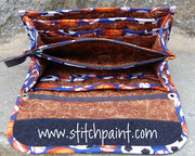 Clutch Wallet Inside | Sporty Fabric | Stitchpaint