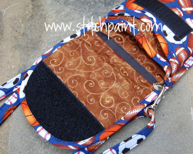 Mini Crossbody Phone Bag Inside | Sporty | Stitchpaint