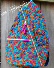 Sling Bag | Stitchpaint | Swirls Fabric