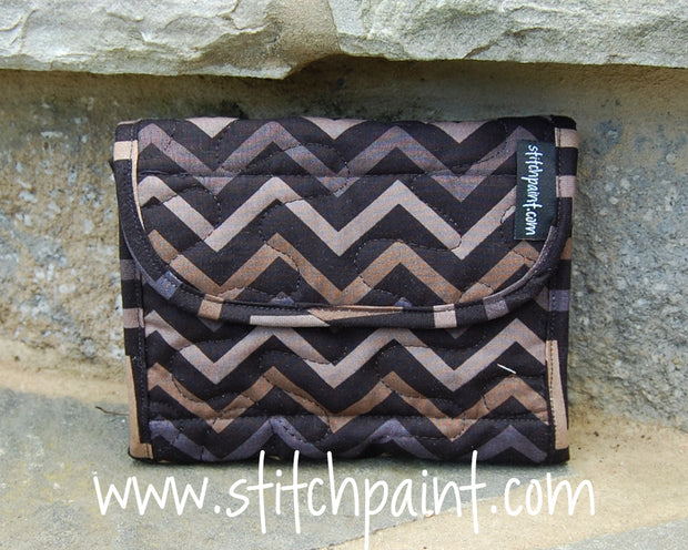Mini Wallet | Stitchpaint | Tiger Eye Fabric