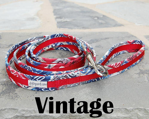 Comfortable Dog Leash | Stitchpet | Vintage USA