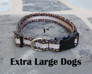 X-Large Boutique Dog Collars | Dogs Paw Print