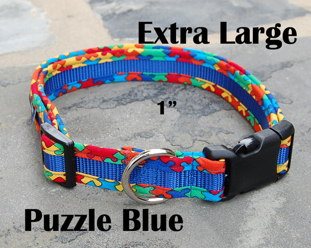 X-Large Boutique Dog Collar | Puzzling | Stitchpet