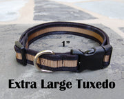X-Large Boutique Dog Collars | Tuxedo