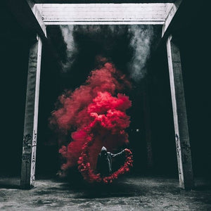 red smoke bombs