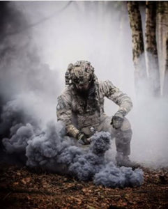 ENOLA GAYE Smoke Simulator WP40 Smoke Photography / Gender Reveal / Airsoft / Paintball - Charcoal