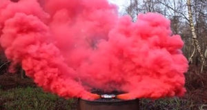 ENOLA GAYE Smoke Grenade Burst Smoke Photography / Gender Reveal / Airsoft / Paintball - Paintball - 4 PacK Red Yellow Green Orange