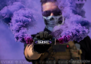 ENOLA GAYE Smoke Simulator Burst Smoke Photography / Gender Reveal / Airsoft / Paintball - Paintball - Purple