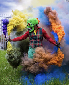 ENOLA GAYE Smoke Simulator Burst Smoke Photography / Gender Reveal / Airsoft / Paintball - Paintball - 50 Count - Charcoal
