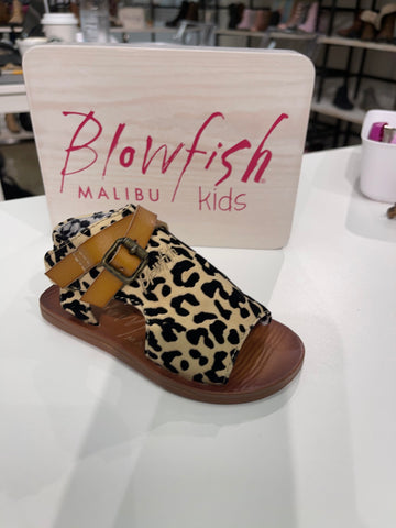Leopard Toddler Sandal