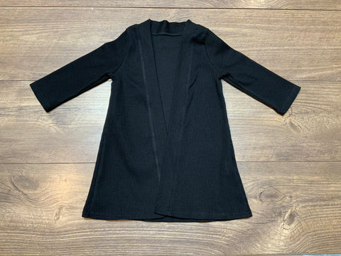 Black Ribbed Duster - Salt Threads