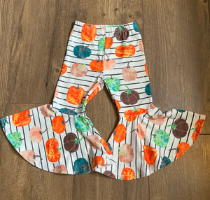 Pumpkin Chic Big Bell Pants