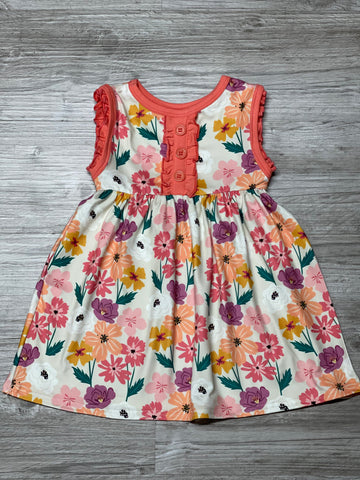 Eclectic Bloom Tank Dress