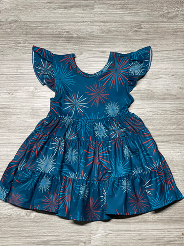 Firework Tiered Dress