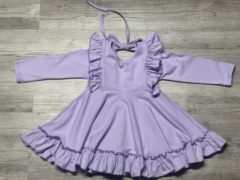 Lavender Twirl Dress - Salt Threads