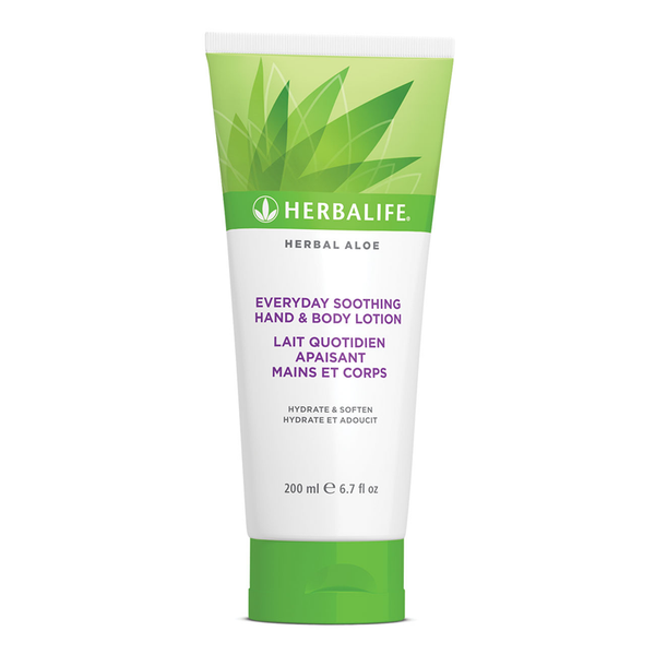 Herbal Aloe Lait Quotidien Apaisant Mains et Corps 200 mL