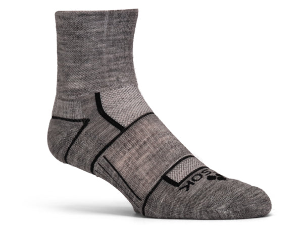 ISW Isolwool® Trail Cuff (3 pair pack)  Gray, Charcoal, Black - Fitsok.com