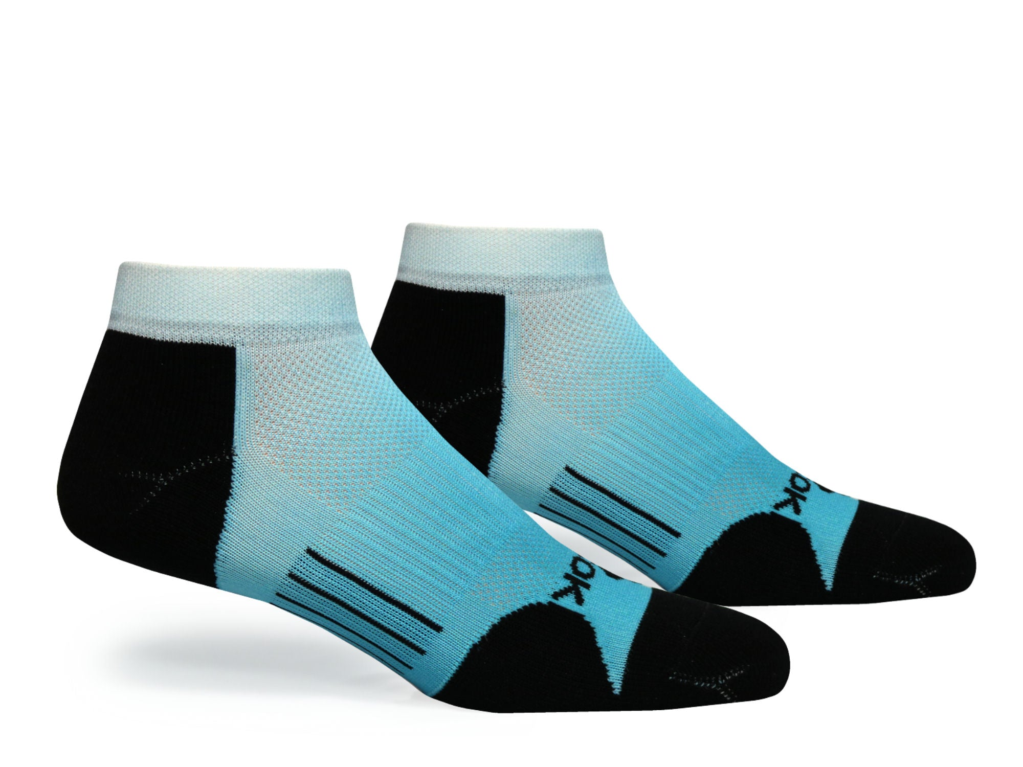 F360 Active Low Cut Blue Fade (1 Pair Pack)