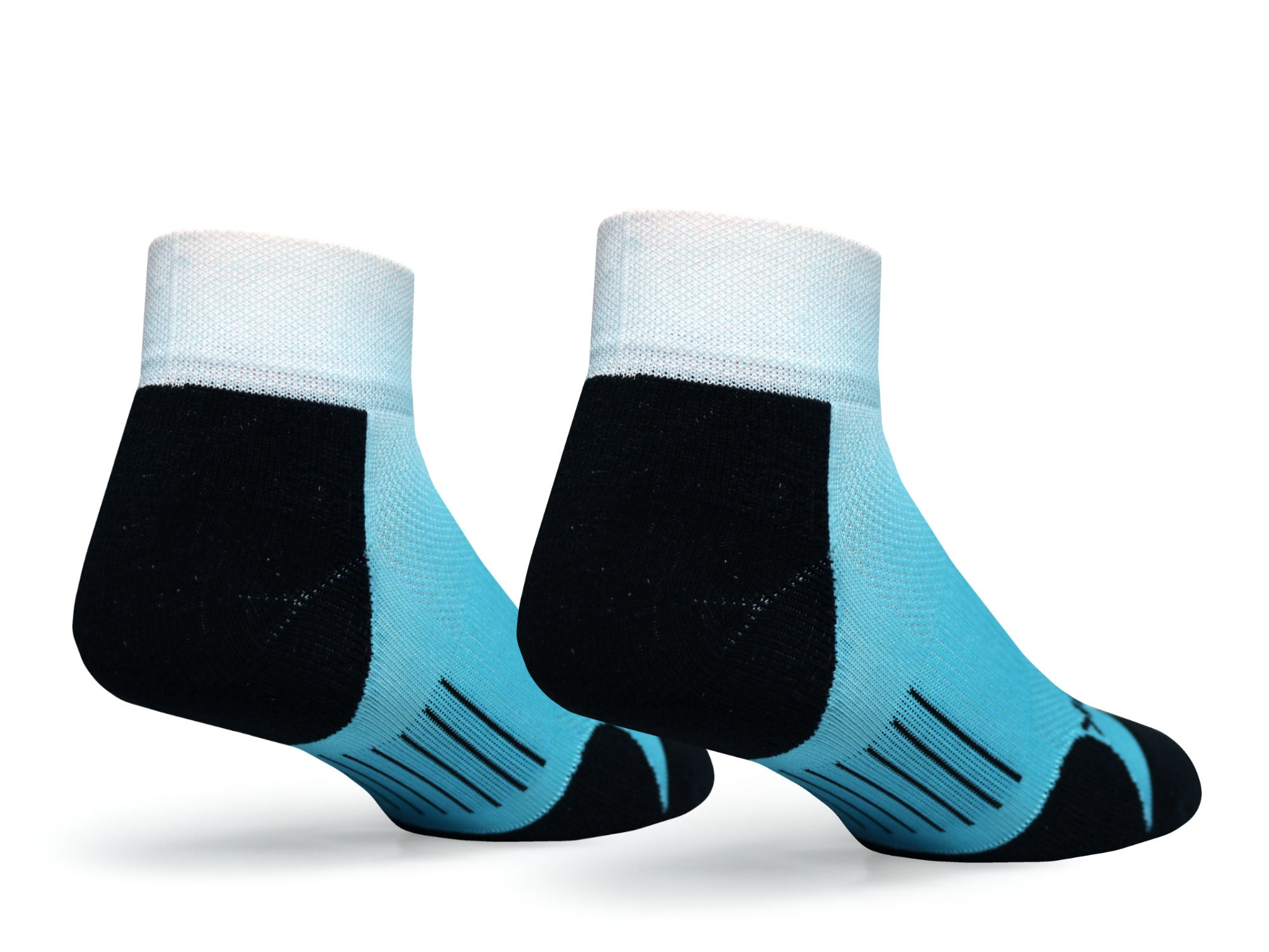 F360 Active Quarter Blue Fade (1 Pair Pack)