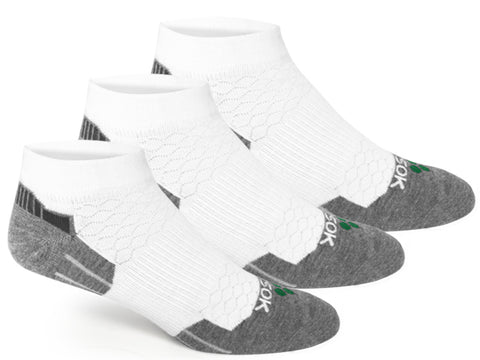 CX3 White Low (3 pair pack) - Fitsok.com