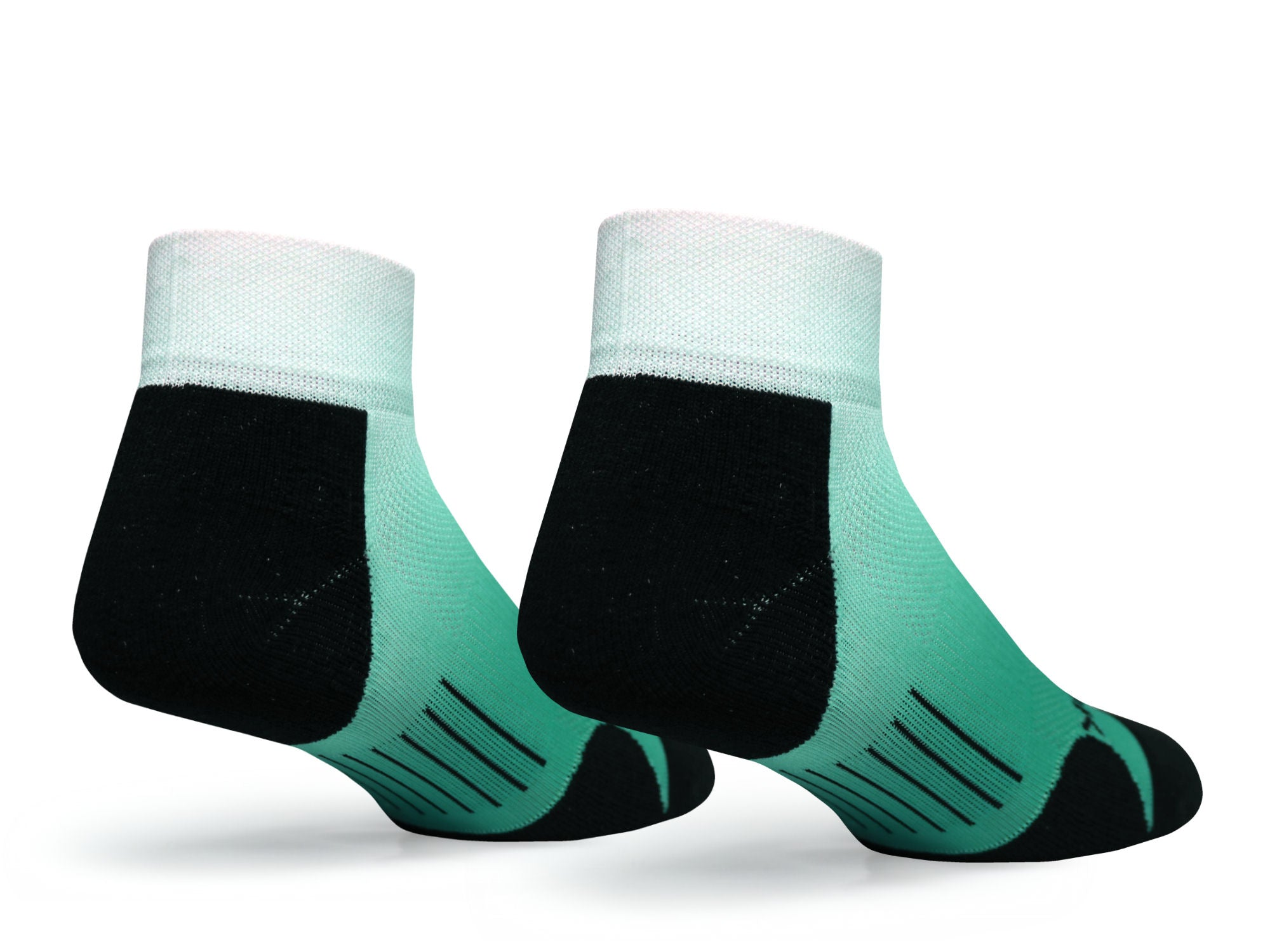 F360 Active Quarter Green Fade (1 Pair Pack)